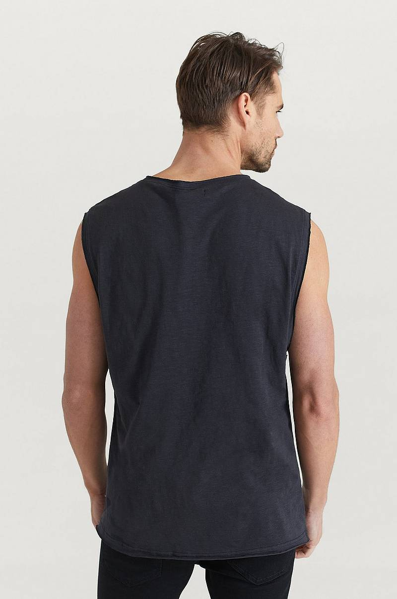 Top Raw Edge Tank Top