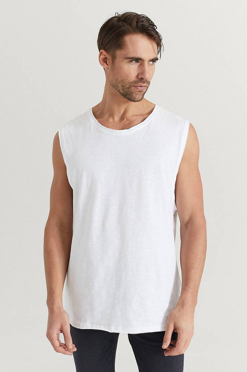 Topp Raw Edge Tank Top