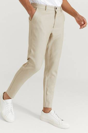 William Baxter Byxor Everyday Trousers Beige