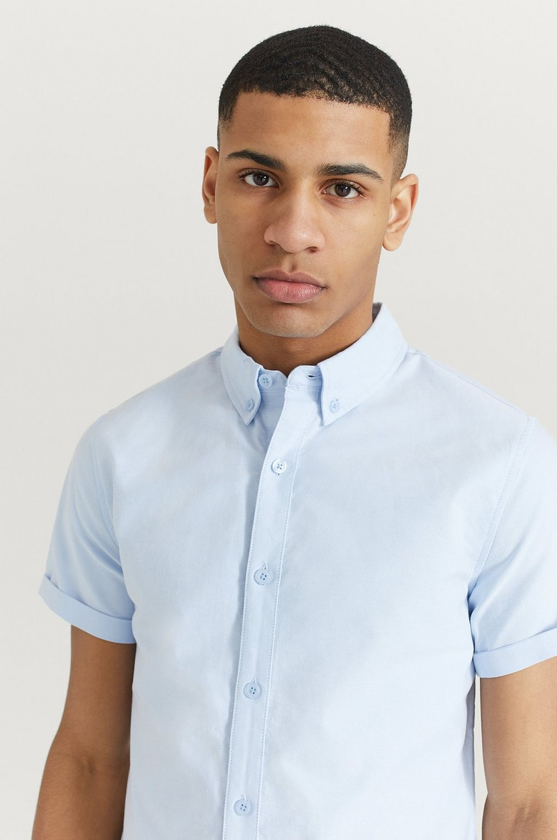 Skjorte Melker Short Sleeve Oxford Shirt