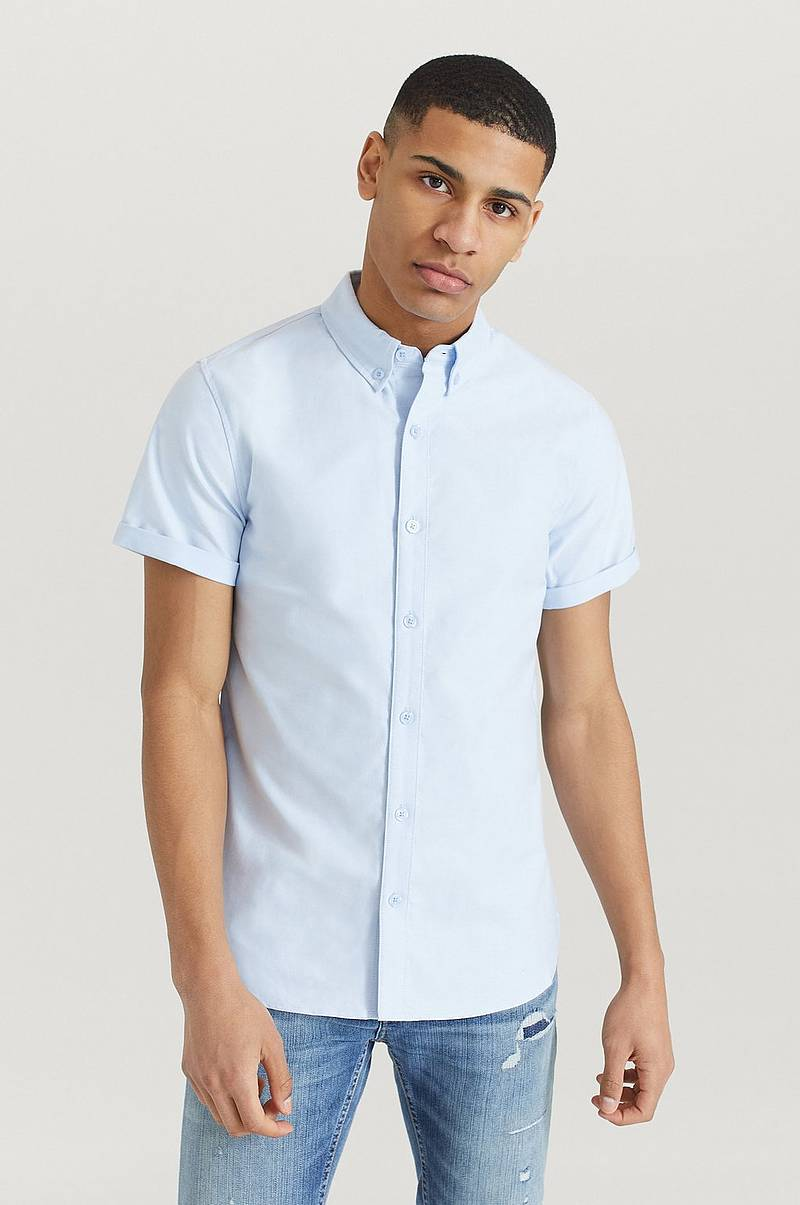 Kauluspaita Melker Short Sleeve Oxford Shirt