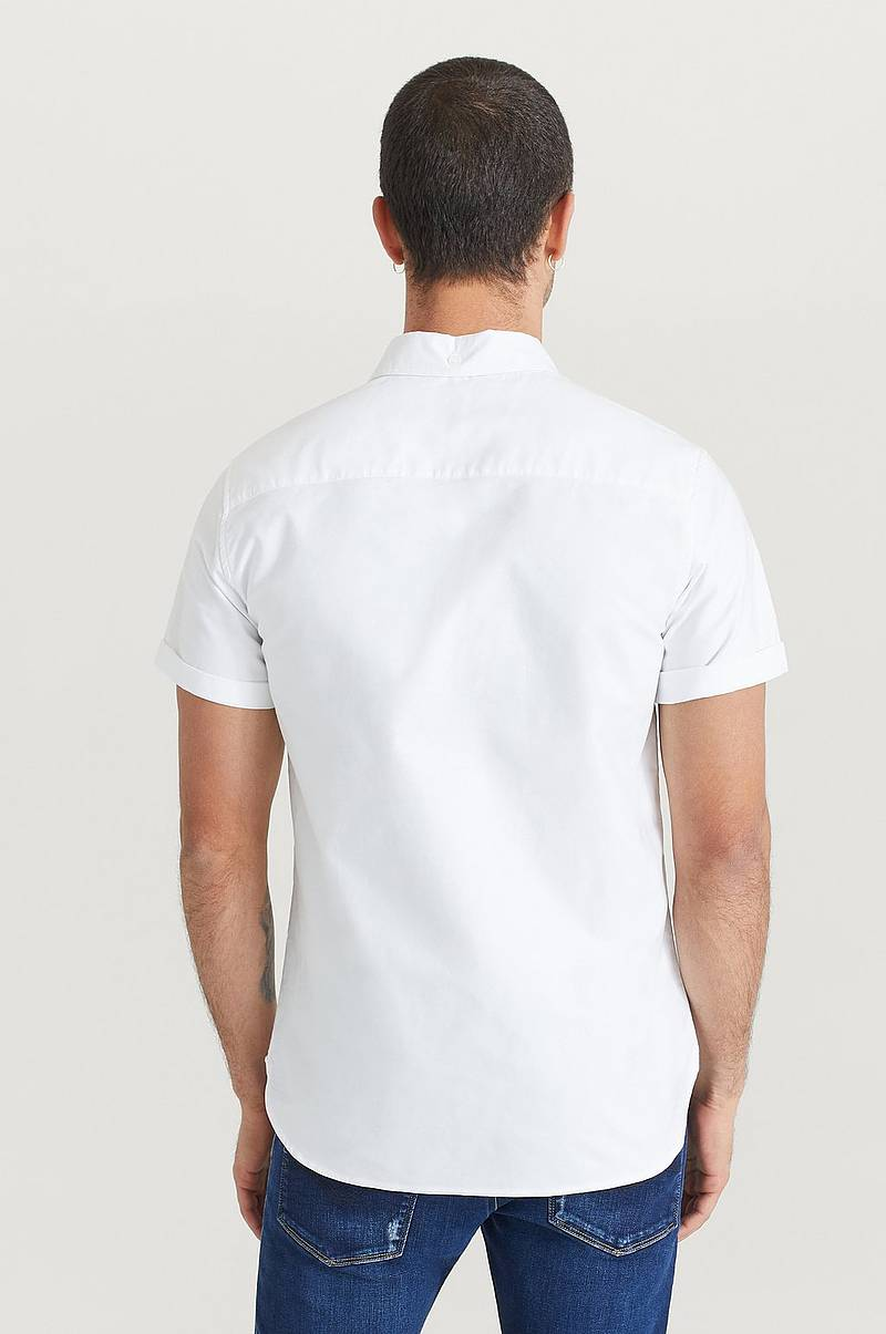 Skjorta Melker Short Sleeve Oxford Shirt
