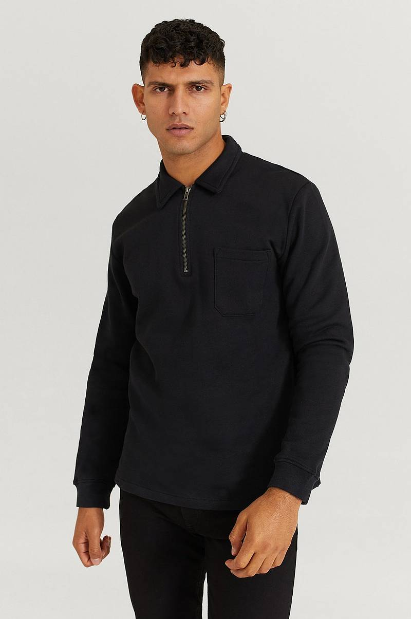 Collegepusero 1/2 Zip Sweater