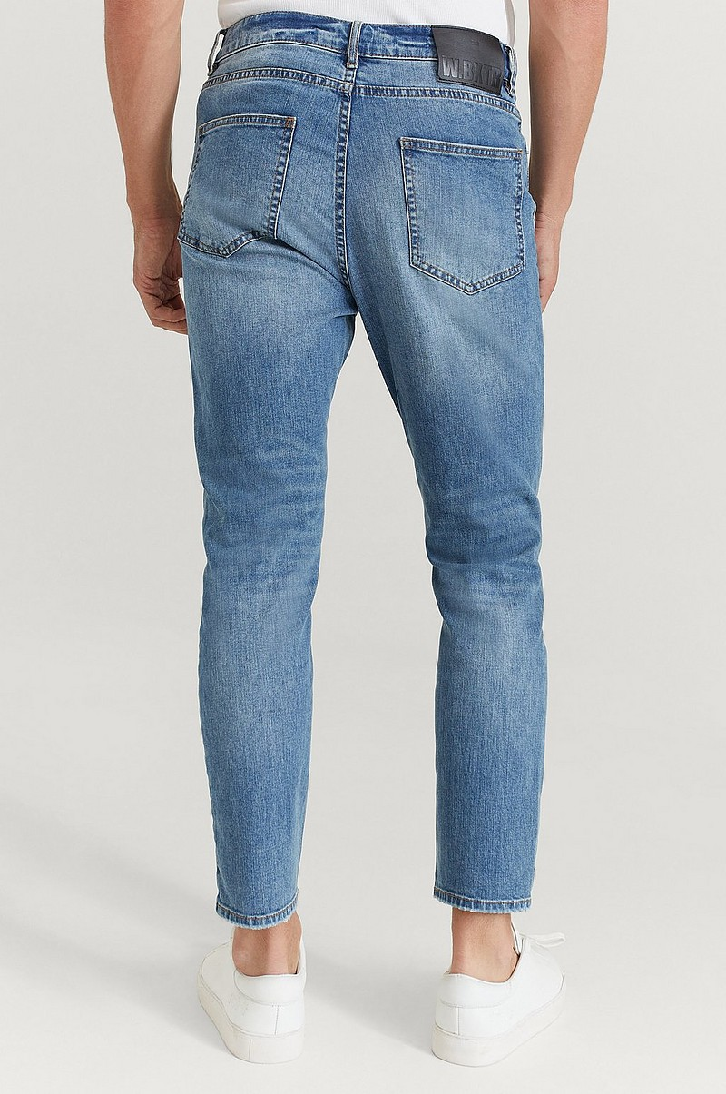 Jeans Tapered Cropped Jeans
