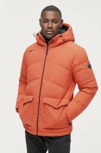 Bilde av Áhkká Dunjacka Down Jacket Short M Orange