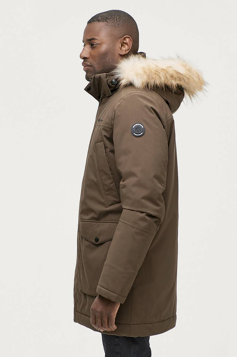 Parka detachable hood M