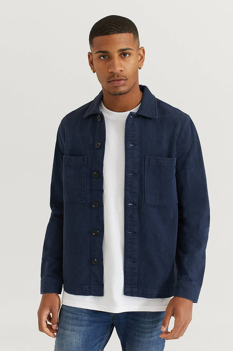 Overshirt Twill With Pockets