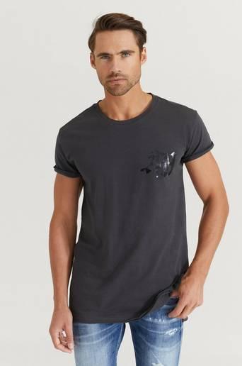 Bilde av Adrian Hammond T-shirt Hammond Tee Grå