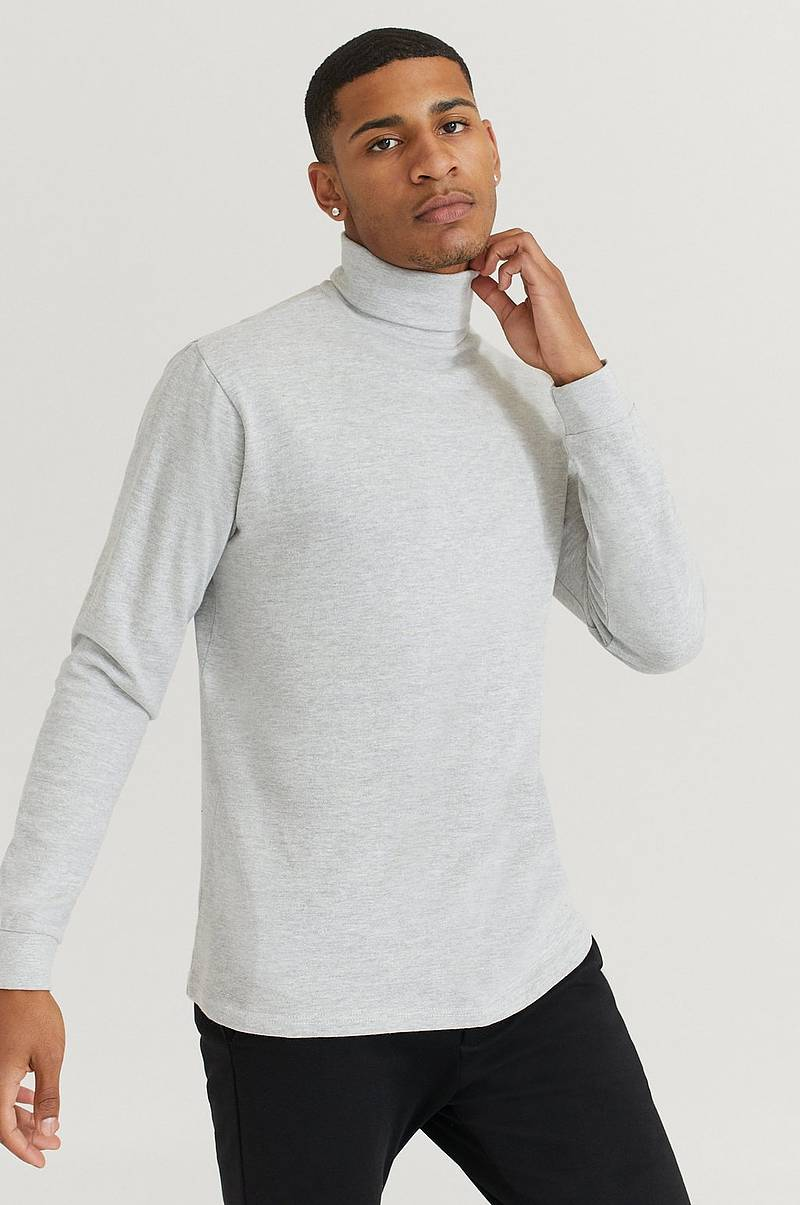 Rullekravebluse Roll Neck