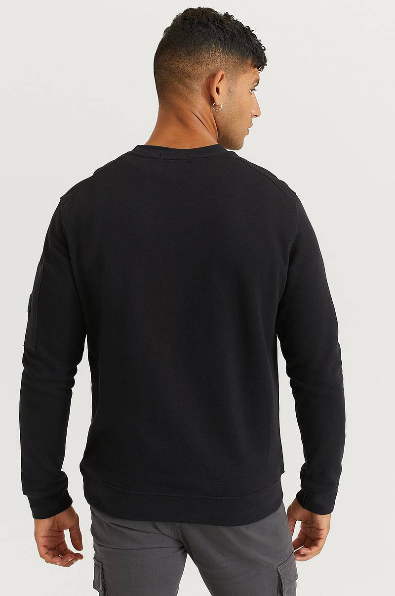 Sweatshirt Arm Pocket Sweater