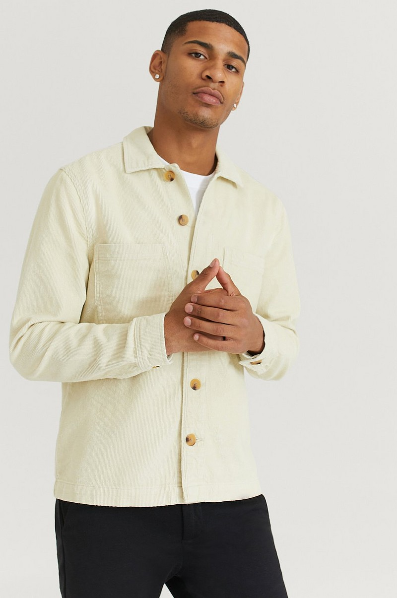 Overshirt Cord With Pockets