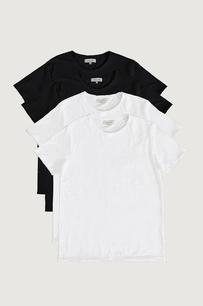 T-shirt 4-pack Raw Tee