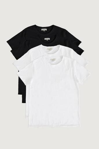 Studio Total T-shirt 4-pack Raw Tee Multi