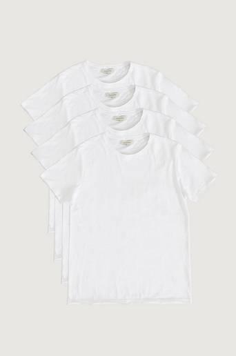 Studio Total T-shirt 4-pack Raw Tee Vit