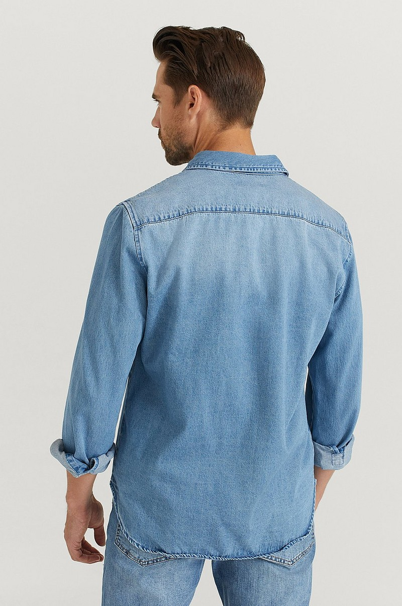 Jeansskjorte Heavy Denim Shirt