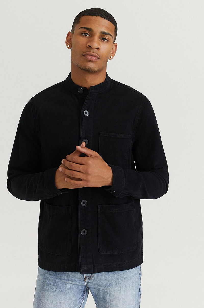 Overshirt Stand Collar Overshirt