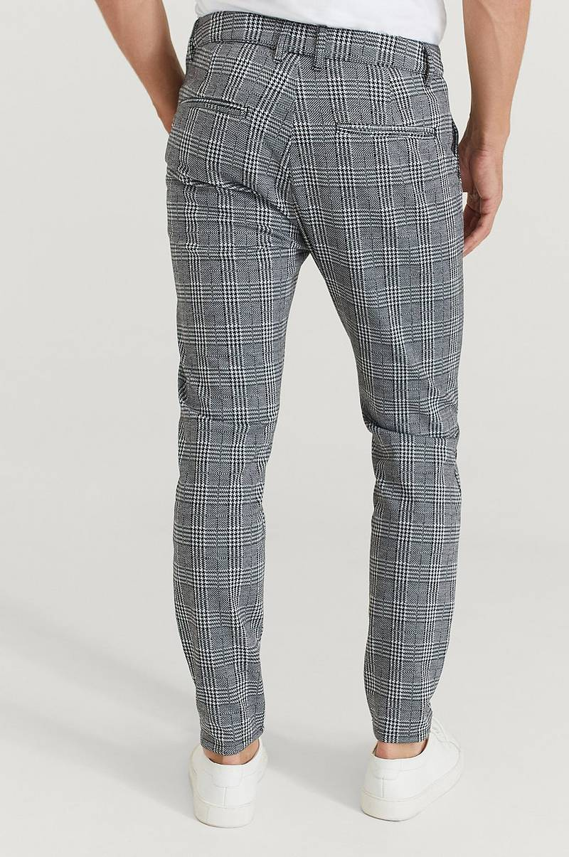 Bukse Soft Chino Check