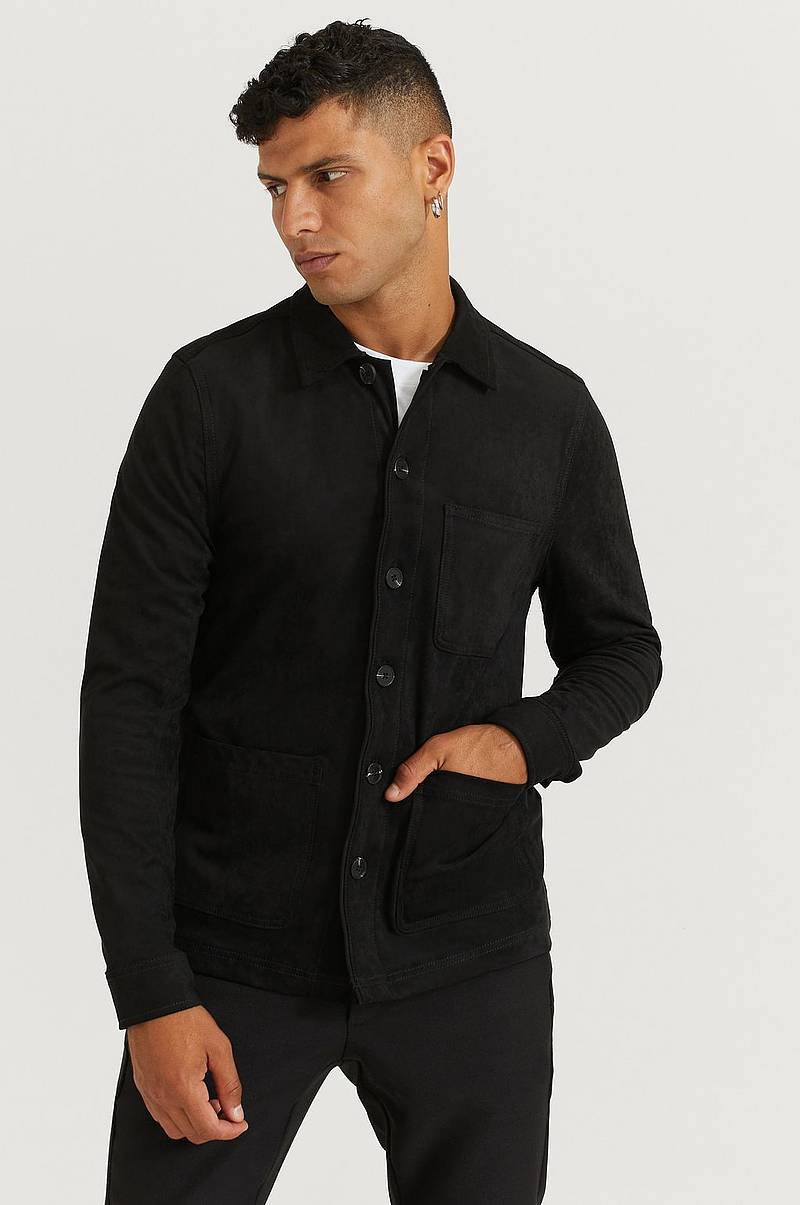 Overshirt Favourite Fake Suede Overshirt