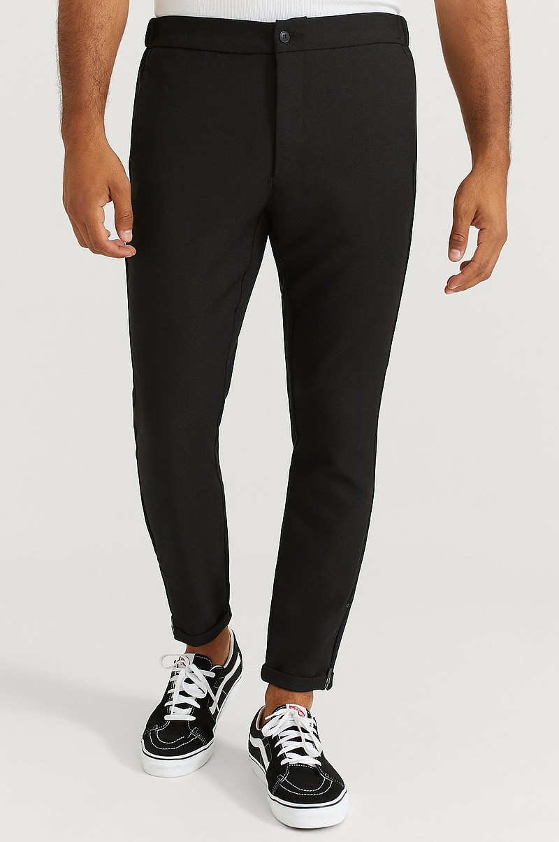 Bukse Slim Zip Pants