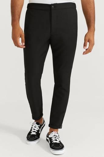 Studio Total Byxor Slim Zip Pants Svart