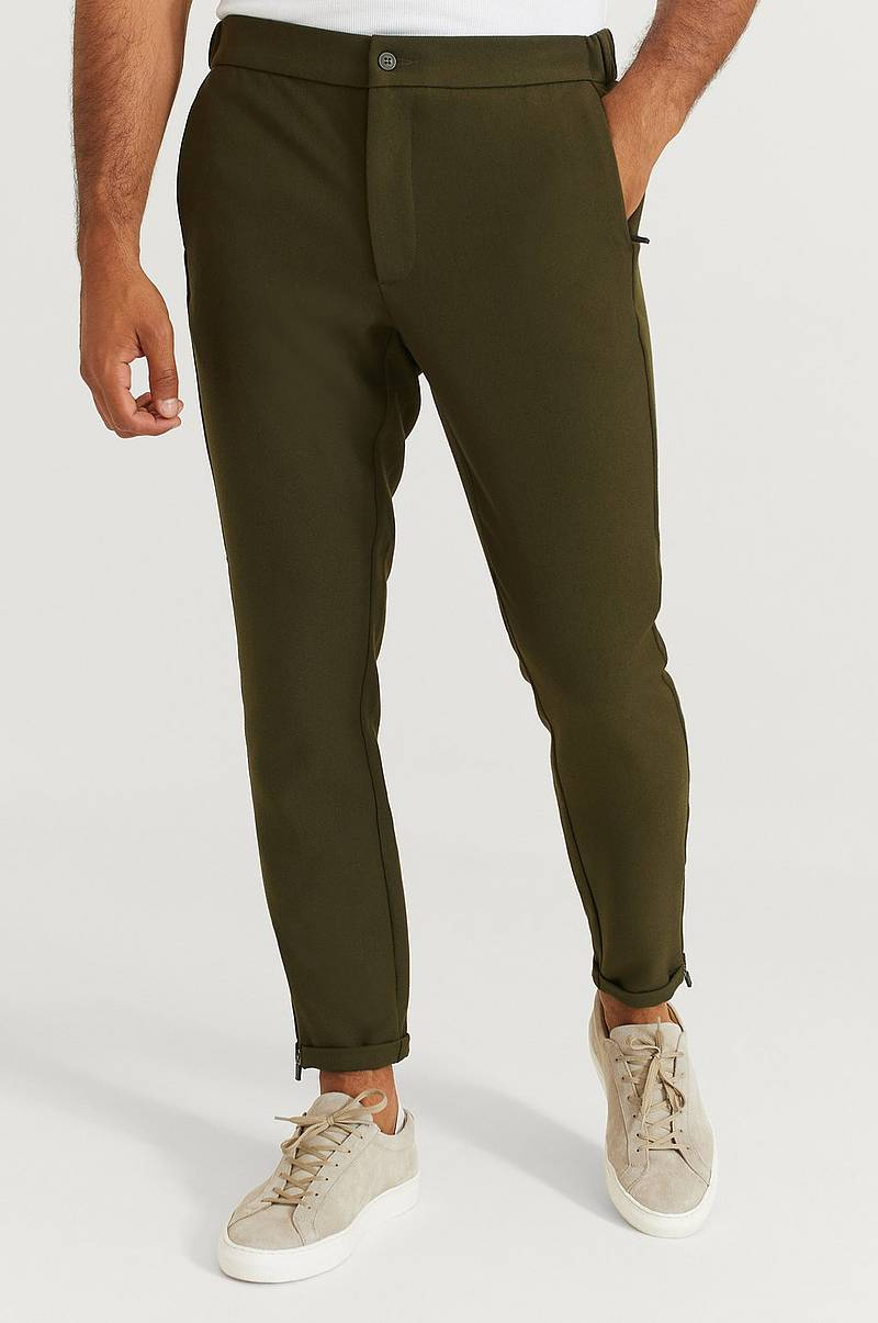 Housut Slim Zip Pants
