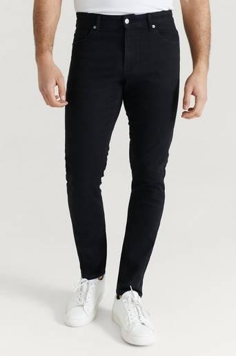 Studio Total Jeans Slim Fit Jeans Svart