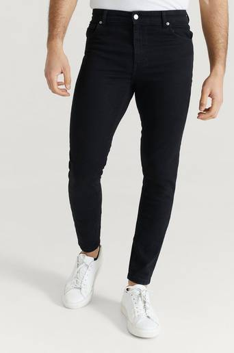 Studio Total Jeans Skinny Fit Jeans Svart
