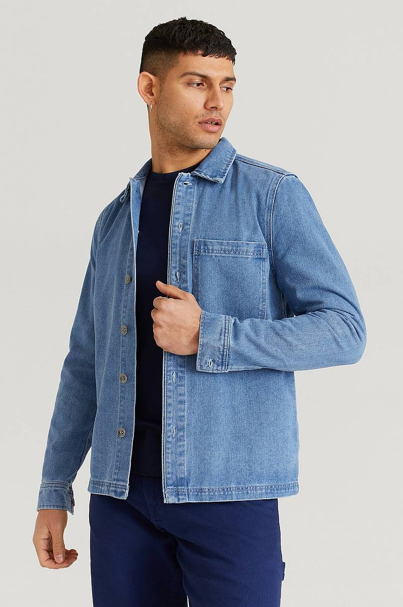 Paitatakki Denim Overshirt