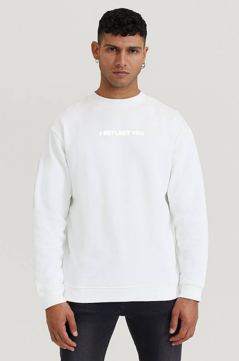 Sweatshirt Crew With Print