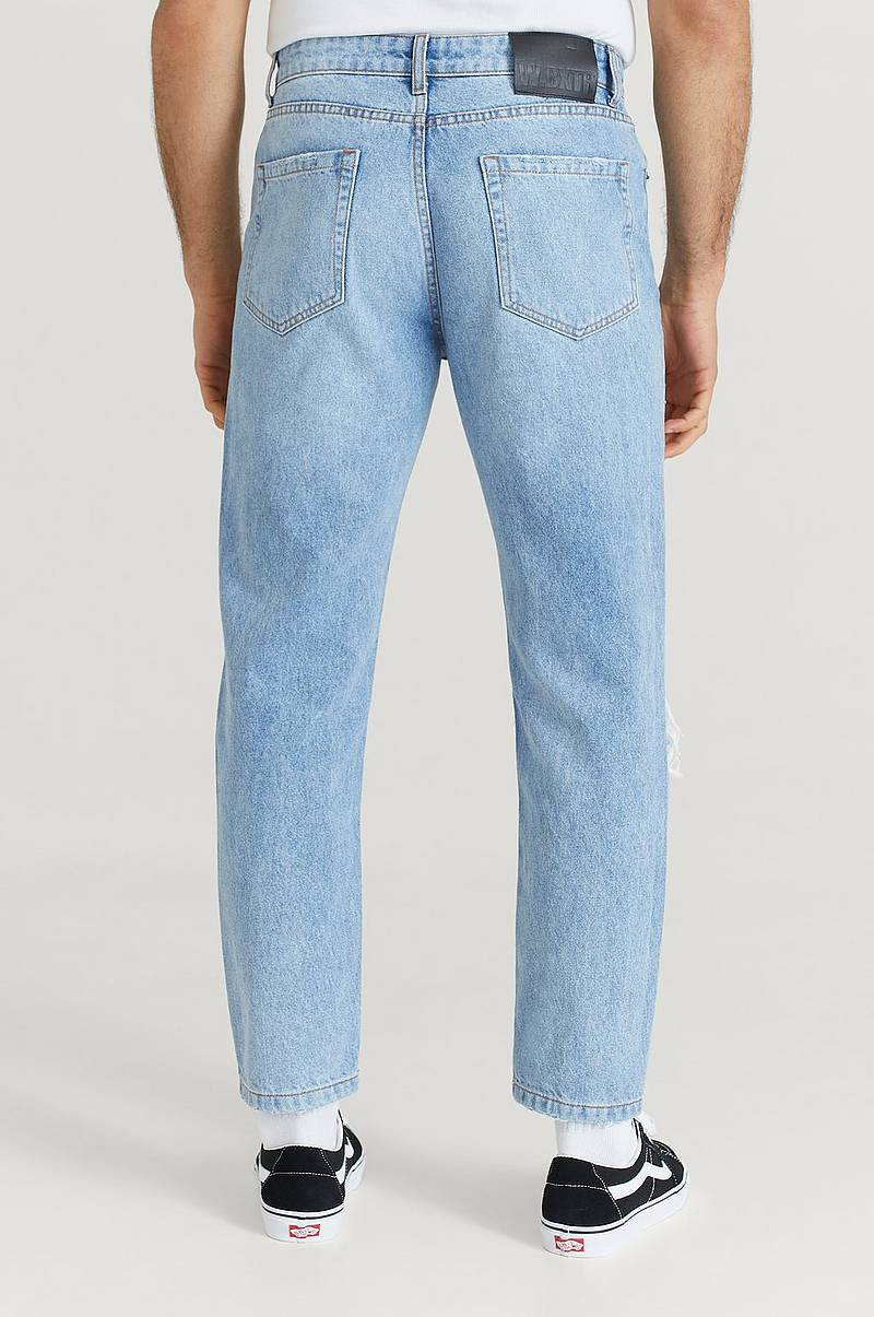 Jeans Ripped Regular Tapered